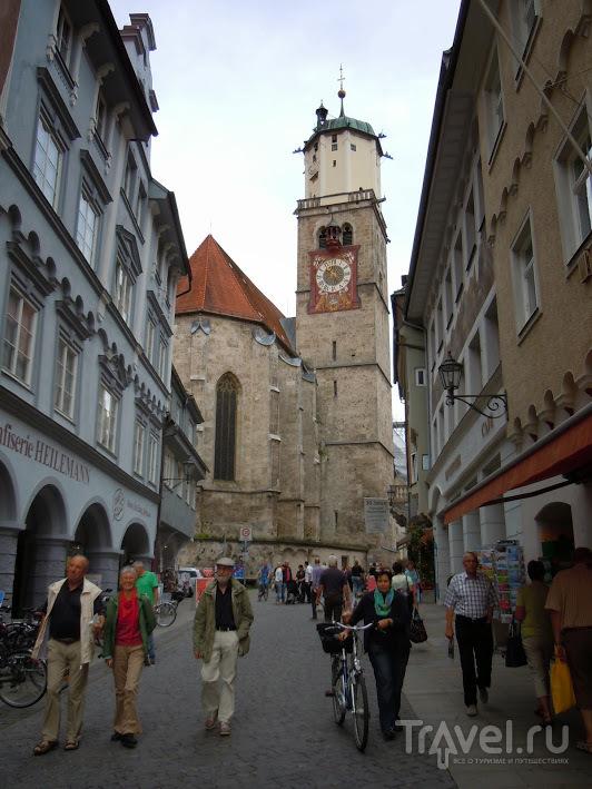 На рынке в городе Memmingen (Бавария) / Германия