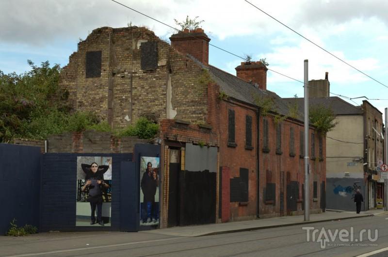 Дублин нетуристический. Прогулка от вокзала к центру / Ирландия