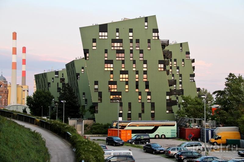 Вторая жизнь венских газометров / Австрия