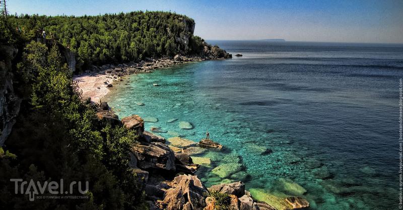 Онтарио: полуостров Брюс / Фото из Канады