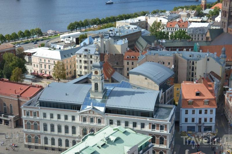 Как выглядит центр Риги сверху? / Латвия