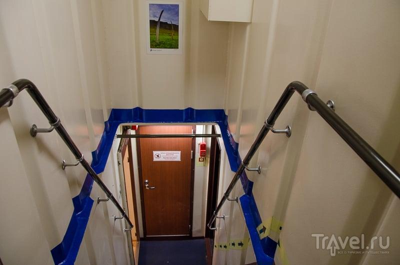Лестница между палубами / Фото из России