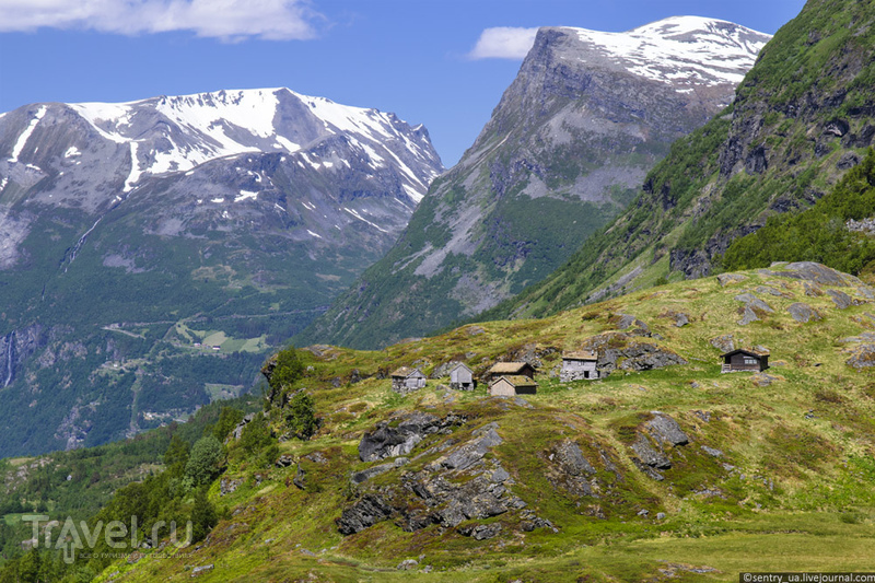 Дорога 63. Гейрангер - Троллстиген / Фото из Норвегии