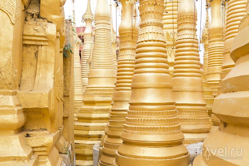 Тысяча сто ступ Интейна, где ветер и солнце дают концерты / Мьянма