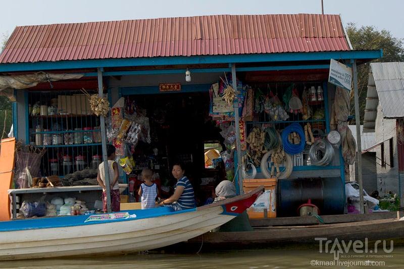 В плавучем селе Прек-Тоал. Камбоджа / Камбоджа