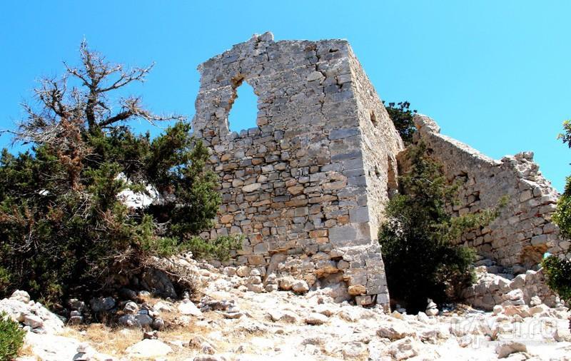 Рыцарское наследие Родоса: крепость Монолитос / Греция