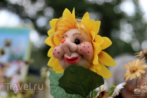 Выставка плодов и цветов в Челябинске / Россия