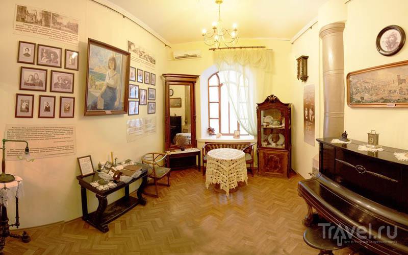 Интерьер Музея Марины и Анастасии Цветаевых в Феодосии