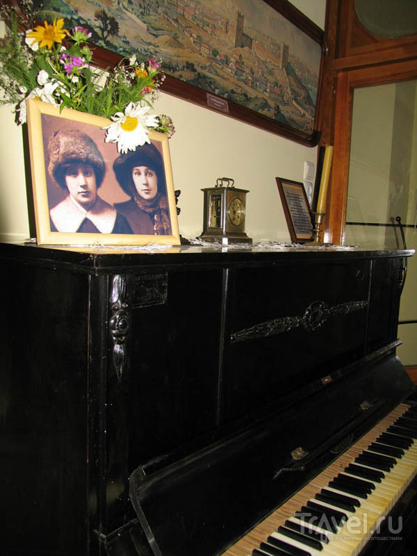 Пианино в Музее Марины и Анастасии Цветаевых