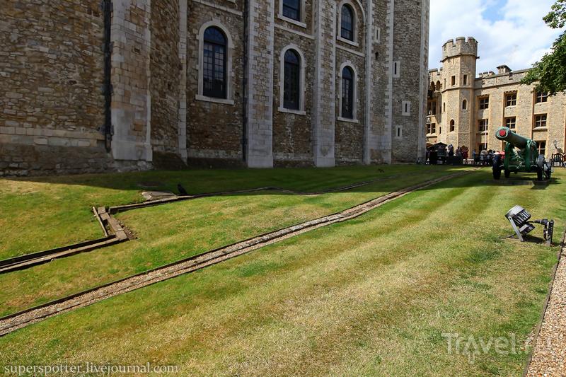 Лондон. Крепость Tower / Великобритания