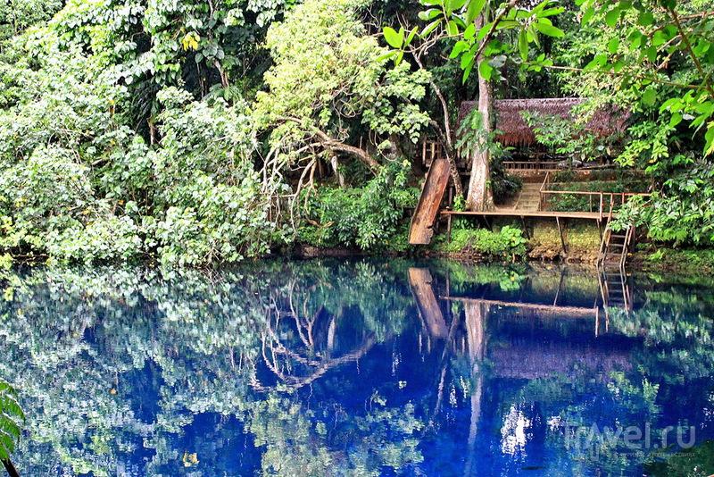 Вануату, Голубая дыра Matavulu / Вануату