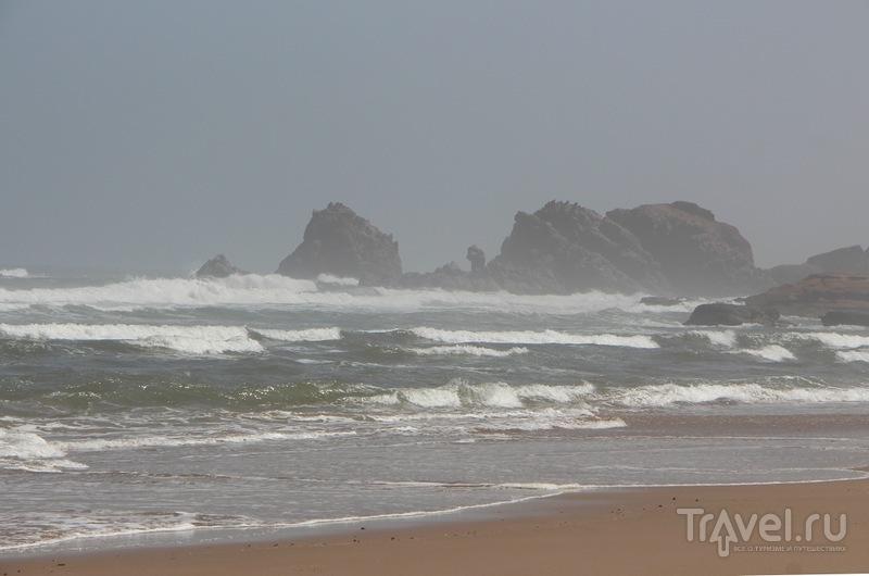 Марокко: пляж Легзира / Фото из Марокко