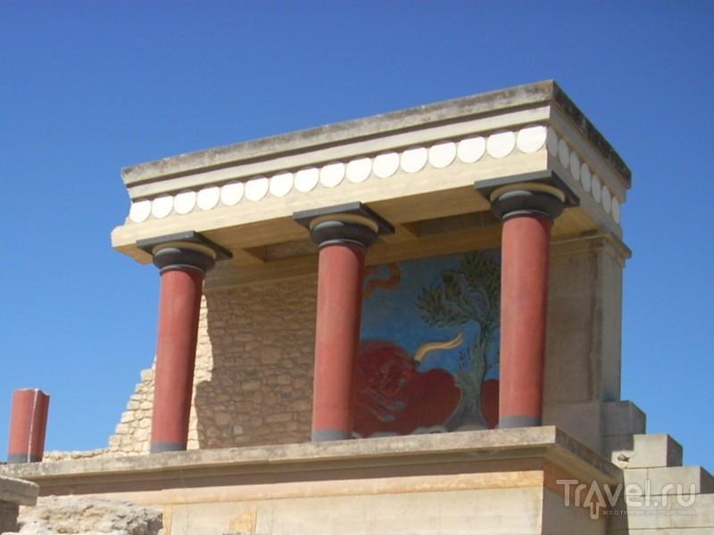 Кносский дворец, остров Крит. Визит к минотавру / Греция