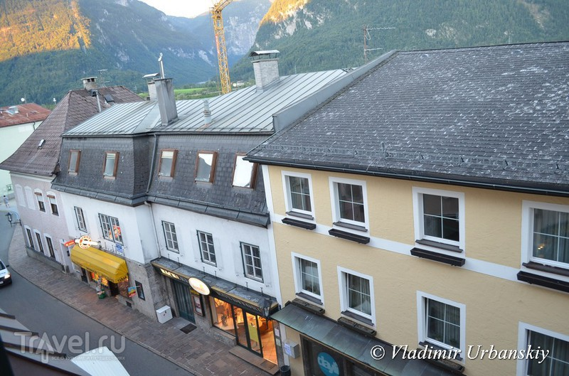 Утро в альпийской деревне / Австрия