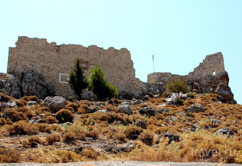 Рыцарское наследие Родоса: крепость Архангелос / Греция