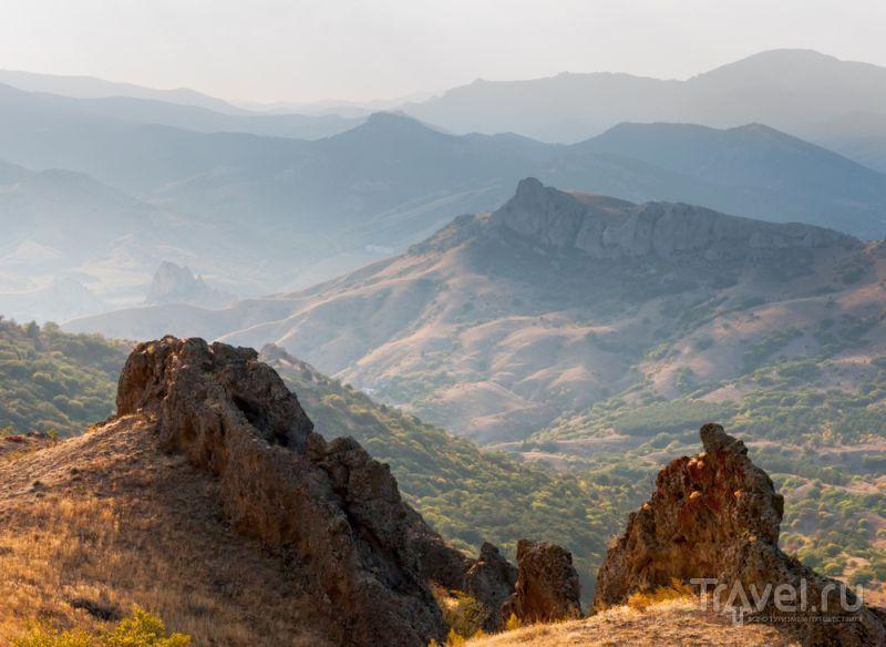 Склоны вулкана Кара-Даг