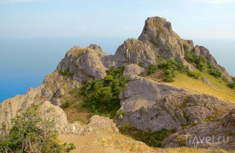 Пейзаж Карадагского заповедника