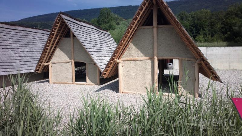 Музей Латениум, озерные поселения в Невшателе / Швейцария