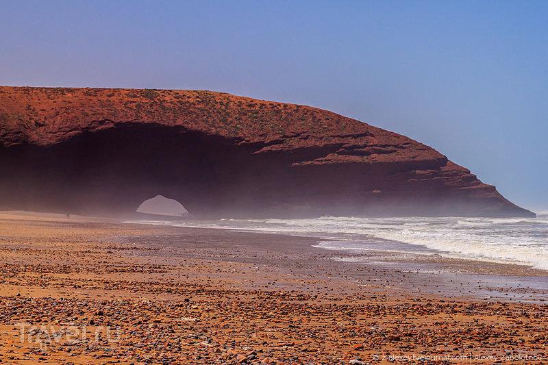 """Марсианский пляж """"Легзира"""" в Марокко / Марокко"""