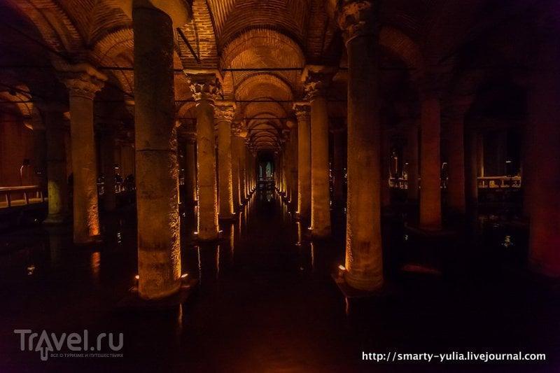 Стамбул: цистерна Базилика / Турция