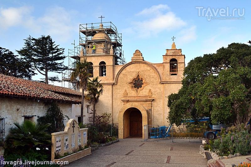 Первые испанские миссии Калифорнии как прообразы трудовых концлагерей / Фото из США
