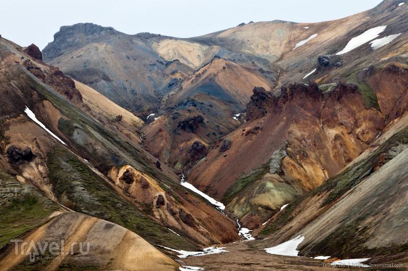 Цветные горы Ландманналойгар / Фото из Исландии