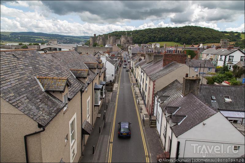 Уэльс. Городок Conwy / Великобритания