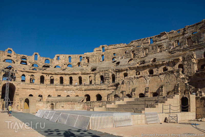Эль-Джем и его амфитеатр / Фото из Туниса