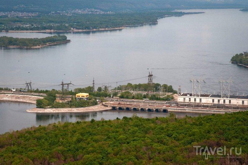 Панорама Жигулевской ГЭС
