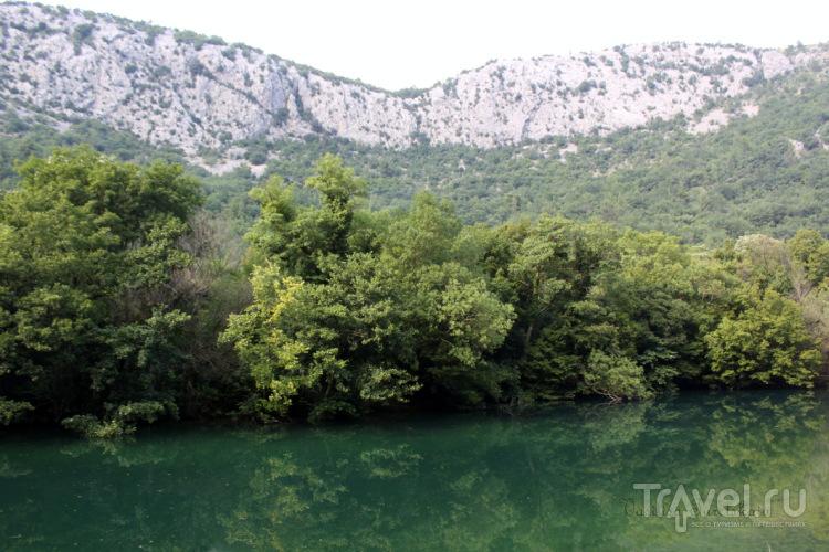 Омиш - Радмановы мельницы и река Цетина / Хорватия