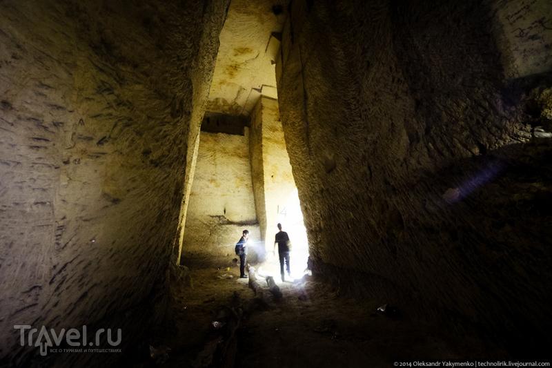 Исторические каменоломни горы Петерсберг / Бельгия