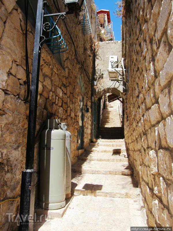 Цфат и топография / Израиль