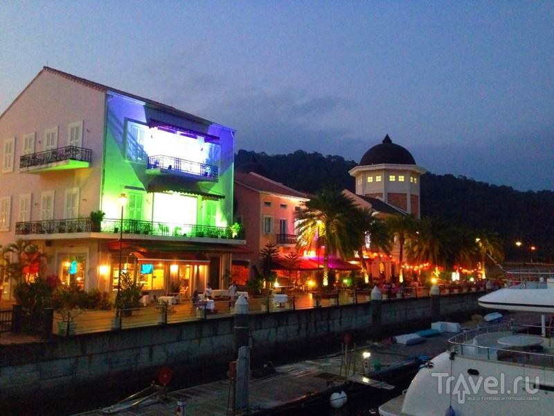 Малазийская Ривьера - гавань Телага / Малайзия