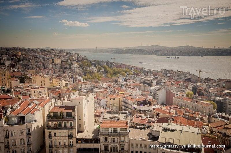 Стамбул: башня Галата / Фото из Турции