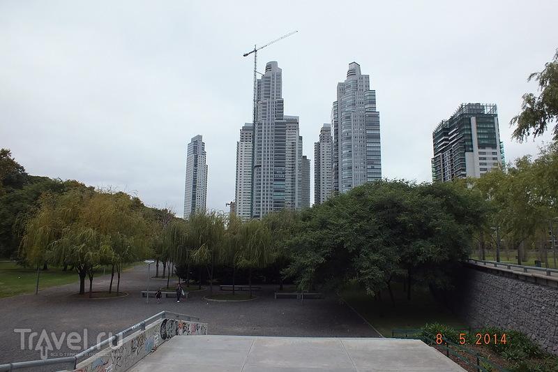 Аргентина. Буэнос-Айрес. Район Пуэрто-Мадеро / Аргентина