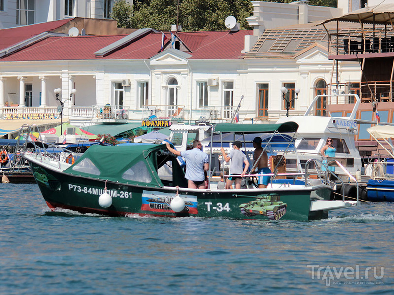 Балаклавская бухта / Фото из России