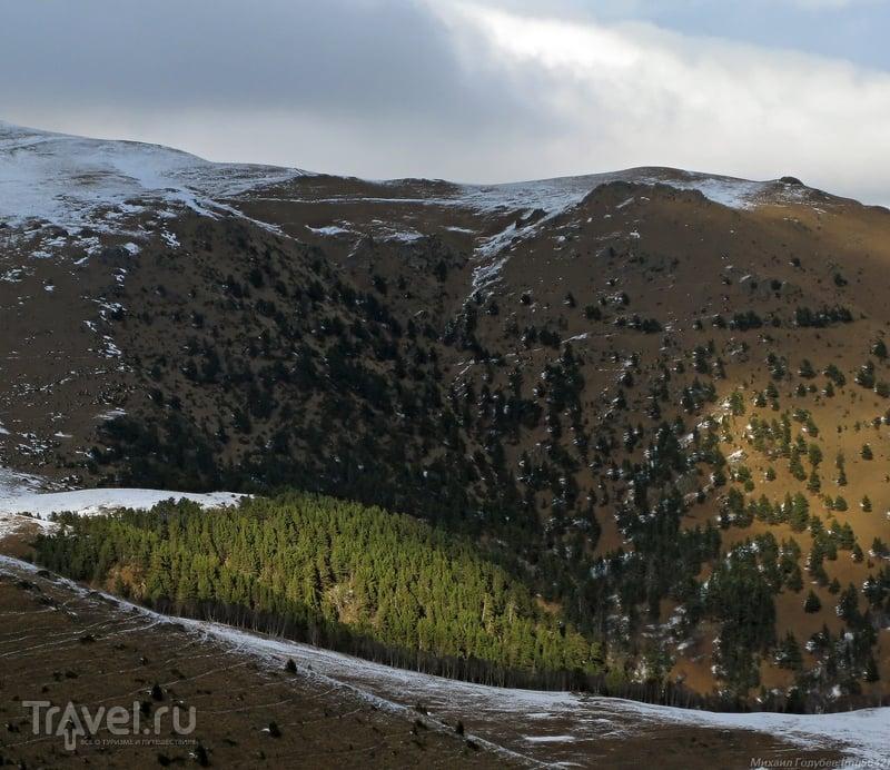 Зимой в горах Карачаево-Черкесии / Фото из России