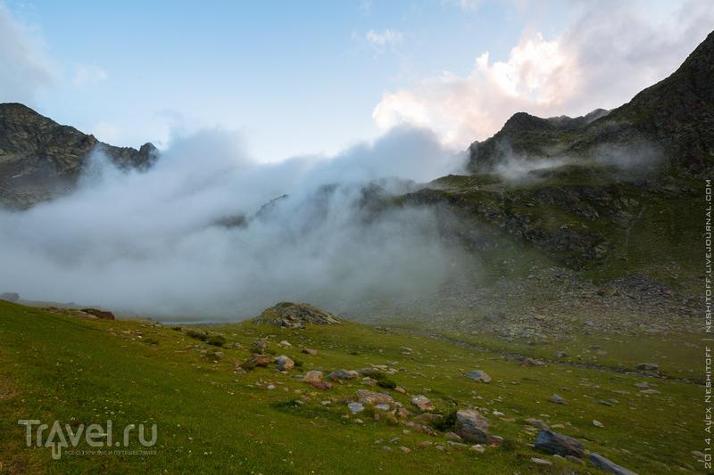 В объятьях облака / Андорра