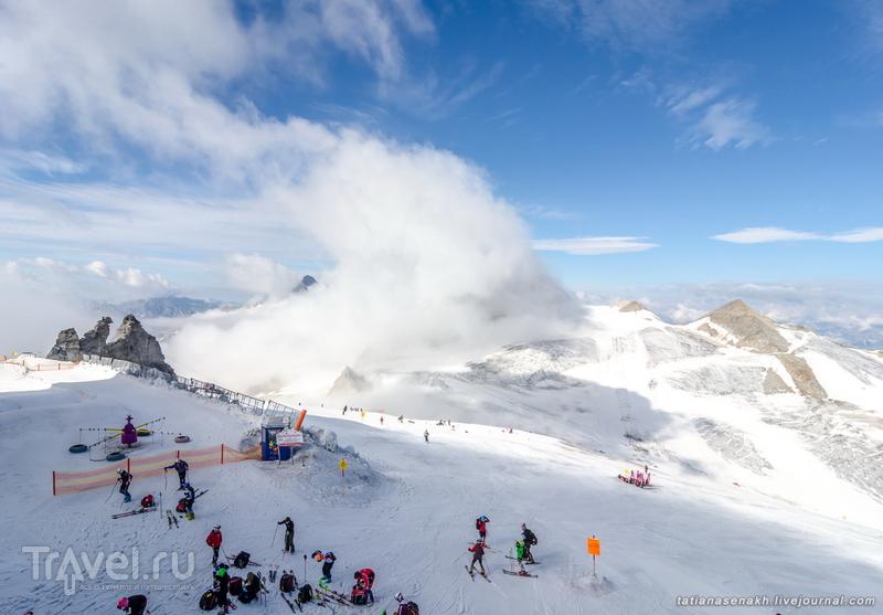Летний зимний Хинтертукс / Фото из Австрии