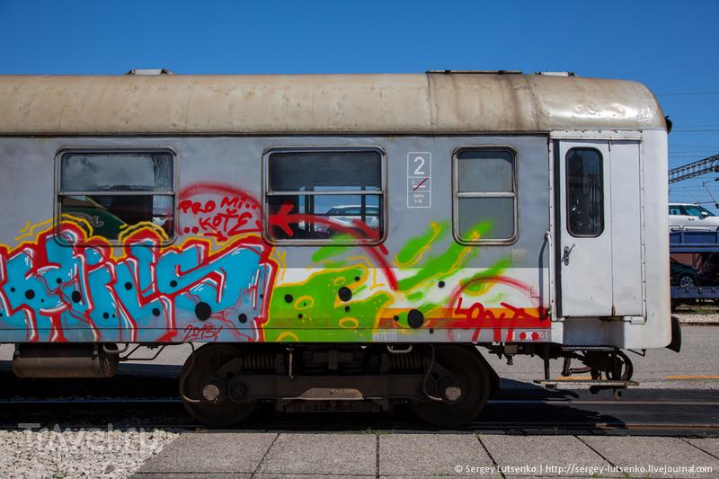 Железные дороги Черногории / Черногория