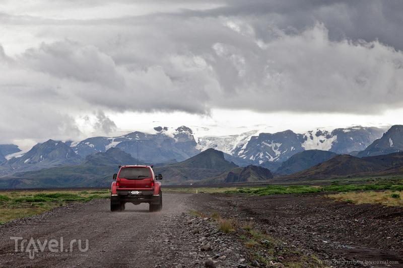 Ледники и водопады Эйяфьядлайокудля / Фото из Исландии