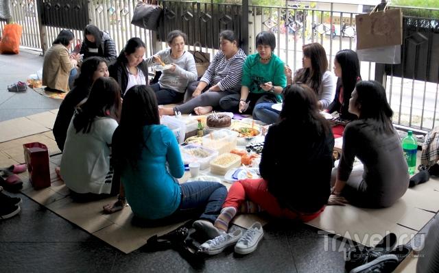 Лагеря филлиппинских иммигранток в Гонконге / Гонконг - Сянган (КНР)
