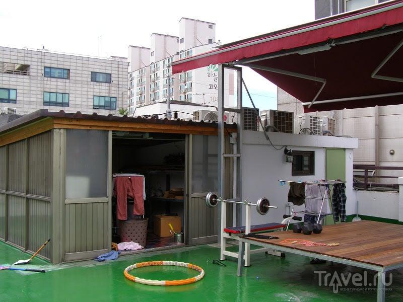 Южная Корея. Сеул. Хостел UWA / Южная Корея