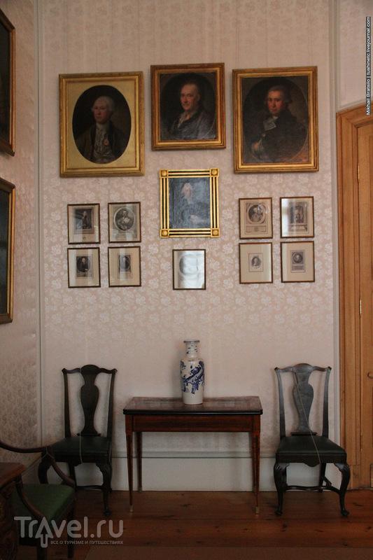 Во дворце Бирона в Рундале / Латвия