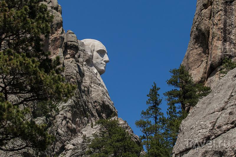 США. Гора Rushmore, Башня Дьявола и мемориал Crazy Horse / Фото из США