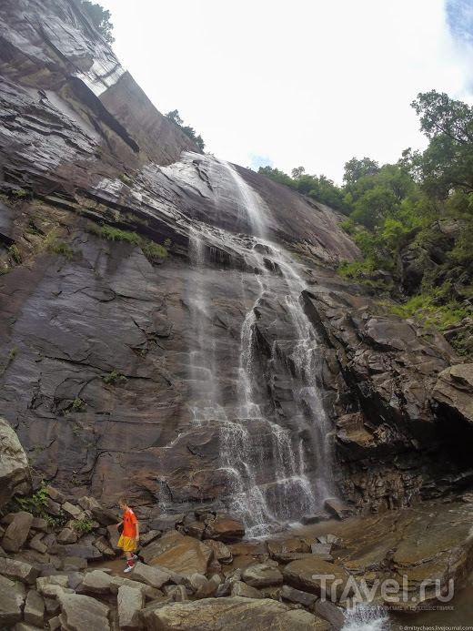 Водопад Hickory Nut Falls / США