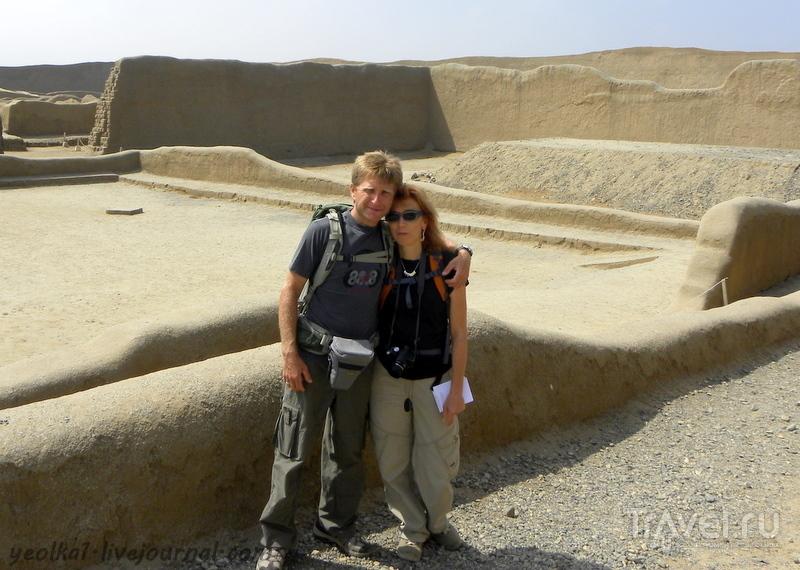 Перу. Чан-Чан - глиняный город / Перу
