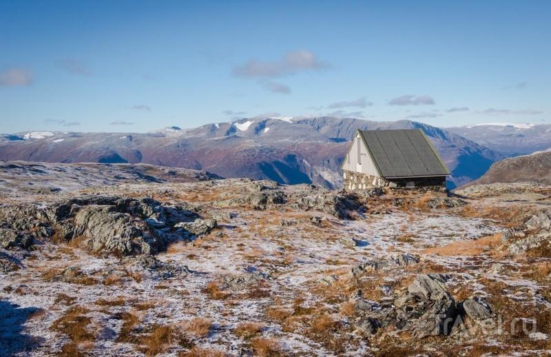 """Дорога """"Aurlandsvegen"""" / Фото из Норвегии"""