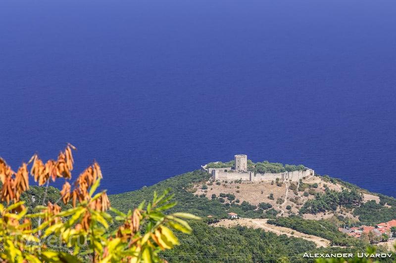 Платамонас, гора Олимп и остров Скиатос / Фото из Греции