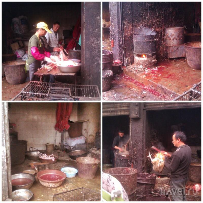 Деревенский рынок в Дали / Китай